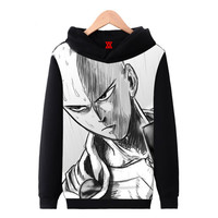 One Punch Man Fleece Lined Hoodie