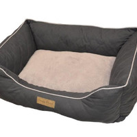 Ultra Soft Comfy Pooch Bed with Bolster