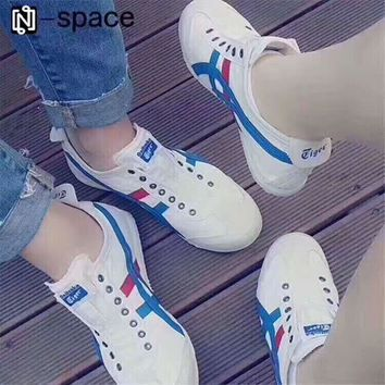 asics gel lyte onitsuka tiger all match fashion casual unisex sneakers couple running shoes h a ghsy 1 one nice  number 1
