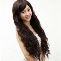 Long Curly Hair Women Synthetic Wigs