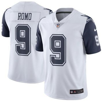 Mens Dallas Cowboys Tony Romo Nike Navy Blue Elite Jersey