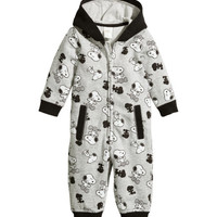 Patterned Snuggle Suit - from H&M