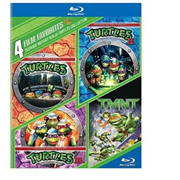 Various - 4 Film Favorites: Teenage Mutant Ninja Turtles Collection