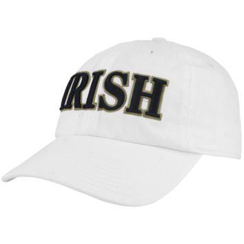 Notre Dame Fighting Irish '47 Brand Classic Franchise IV Fitted Hat – White