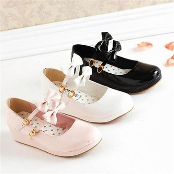 shoes Lolita cosplay shoes boots accessories Halloween Free Shipping bow many colours shoes