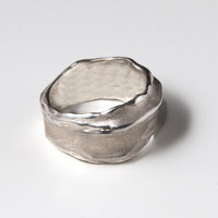 Wrap No.1 - Sterling Silver Ring , Unisex Ring , Wedding Ring , Wedding Band , Mens Ring