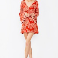 Bell Raiser Paisley Dress