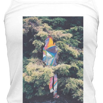 Trippy Alice in Wonderland Woods Tank Top
