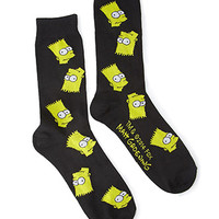 Bart Simpson Socks