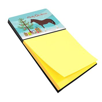 English Thoroughbred Horse Christmas Sticky Note Holder BB9280SN