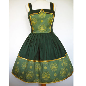 Legend Of Zelda Hyrule Inspired Dress - Custom Handmade To Order- Two Bodice Styles Available