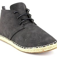 Makers Shoes Womens Glory-4 Ankle High Espadrille Desert Boots
