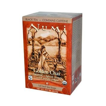 Numi Tea Golden Chai Black Tea (1x18 Bag)