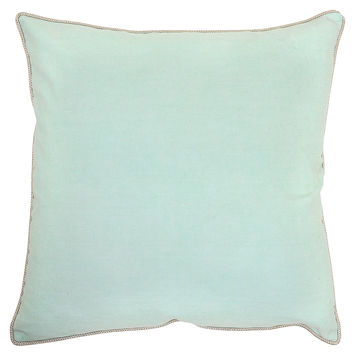 Basic Elements Pillow in Mint design by Villa Home