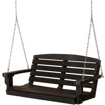 Wildridge Classic 4 ft. Recycled Plastic Classic Porch Swing