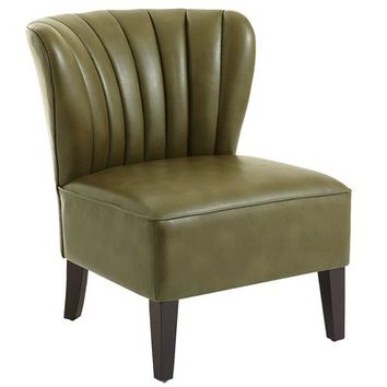 Emille Channel Back Chair - Cedar