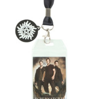 Supernatural Family Business Lanyard