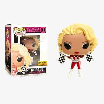 Funko Drag Queens Pop! RuPaul Vinyl Figure Hot Topic Exclusive