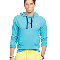 Polo Ralph Lauren Performance Fleece Hoodie - Marathon Green