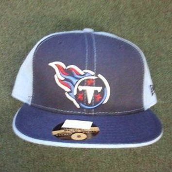 TENNESSEE TITANS RETRO NEW ERA OFFICIALLY LICENSED 59FIFTY FITTED HATS