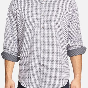 Men's Big & Tall Bugatchi Classic Fit Sport Shirt,
