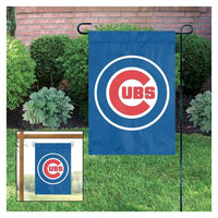 2016 MLB Chicago Cubs World Series Champions Garden/ Window Flag - Free Shipping