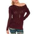 Secret Admirer Top - Burgundy