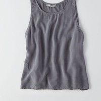 AEO Women's Don't Ask Why High Slit Tank