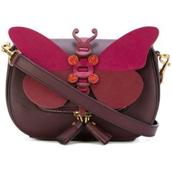ESBONJF Anya Hindmarch Small Butterfly Shoulder Bag - Farfetch