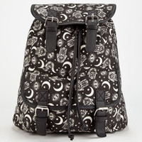 Mystical Backpack Black Combo One Size For Women 26096814901