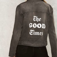 The Laundry Room Good Times Denim Jacket