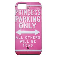 Princess parking iPhone 5 cover from Zazzle.com