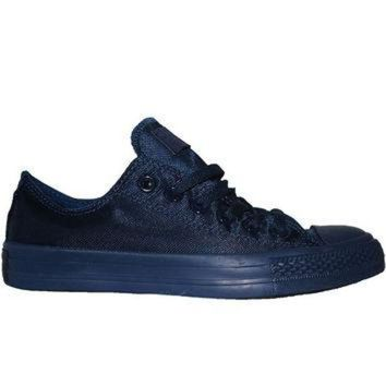 DCKL9 Converse All Star Chuck Taylor Nylon Mono Lo - Midnight Low Top Sneaker