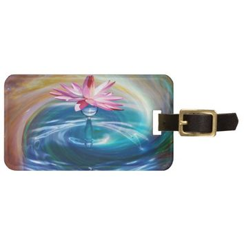 Nature Blossom Luggage Tag