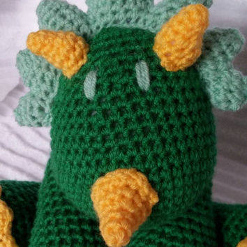Crochet Dino Stuffed Animal, Crochet Animal, Stuffed Dinosaur , Crochet Animal, Stuffed Animal, Dinosaur Nursery, Dinosaur Stuffed Animal