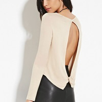 Slit-Back Top