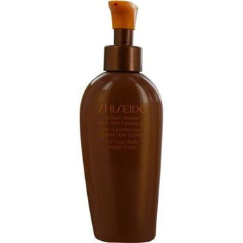 ONETOW SHISEIDO by Shiseido Brilliant Bronze Quick Self Tanning Gel ( For Face & Body )--150ml/5.2oz