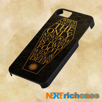 Bring Me The Horizon Coffin The House of Wolves Quote Lyric  For iPhone, iPod, iPad and Samsung Galaxy Case