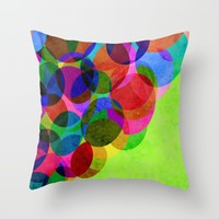 Up Throw Pillow by Miss L In Art