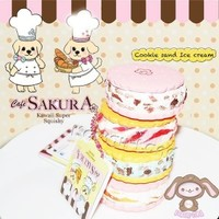Cafe Sakura Squishy Cookie & Ice Cream Charms ~ Exclusive