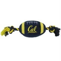 DCCKIV4 Cal Berkeley Golden Bears Plush Football Pet Toy