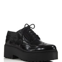 Jeffrey CampbellRudeness Platform Oxfords