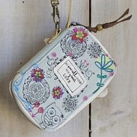 Great  Love  Sunshine  State  Denim  Wristlet  From  Natural  Life