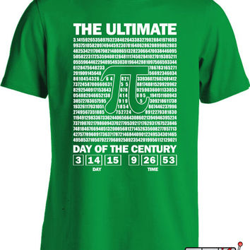 The Ultimate Day Of Pi T Shirt Pi Day Shirt Math Humor 3.14.15 Nerd T Shirt  Mens Ladies Tee MD-325