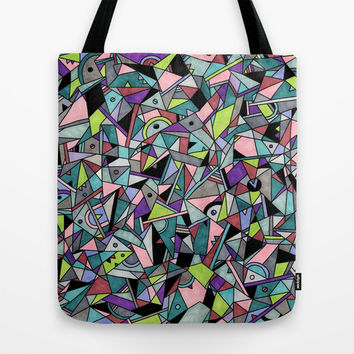 Synthesis Tote Bag by Alliedrawsthings | Society6