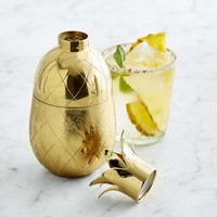 Gold Pineapple Cocktail Shaker