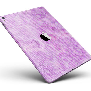 """Pink Grunge Surface with Microscopic Matter Full Body Skin for the iPad Pro (12.9"""" or 9.7"""" available)"""