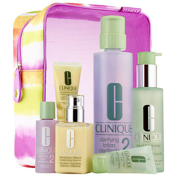 CLINIQUE Great Skin Home & Away Set For Dry Skin