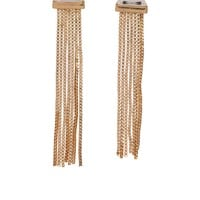 Designs by Stephene Triangle Fringe Earrings