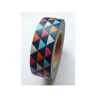 Craft adhesive tape- 1 Roll Japanese Washi Tape Masking Tape decoration Tape